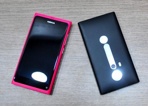 Ảnh thực tế Nokia N9 ở Việt Nam