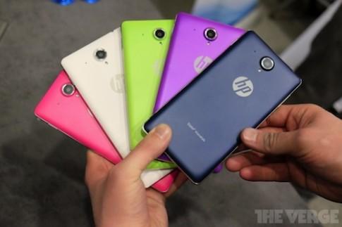 Ảnh thực tế phablet giá rẻ nhiều màu sắc HP Slate VoiceTab