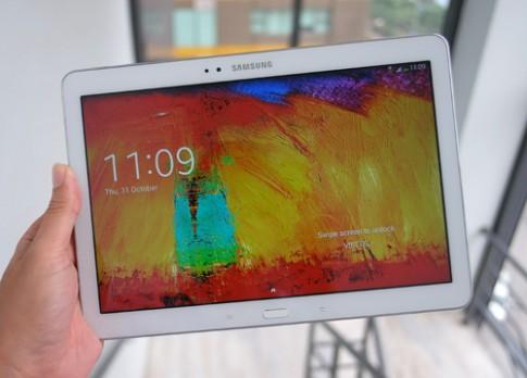 Ảnh thực tế Samsung Galaxy Note 10.1 phiên bản 2014