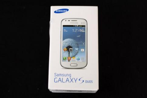 Ảnh thực tế Samsung Galaxy S Duos