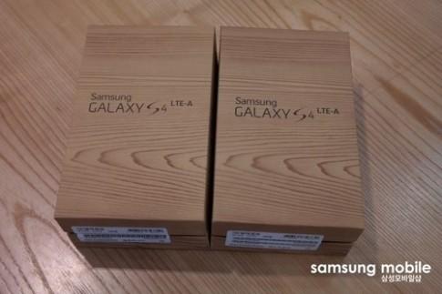 Ảnh thực tế Samsung Galaxy S4 LTE-A