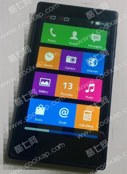 Ảnh thực tế smartphone Android đầu tiên của Nokia