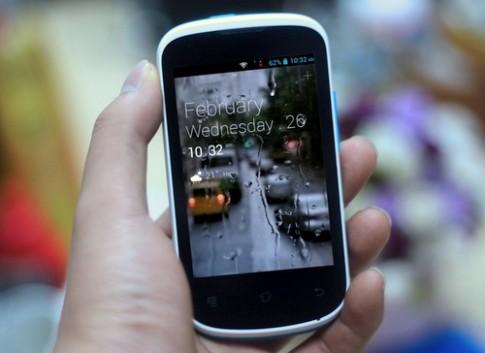 Ảnh thực tế smartphone giá rẻ Haier Zio P5