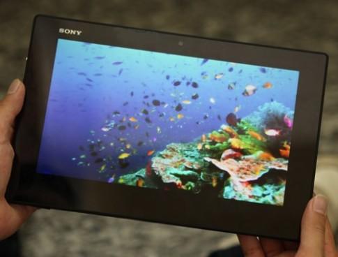 Ảnh thực tế Sony Xperia Tablet Z tại TP HCM