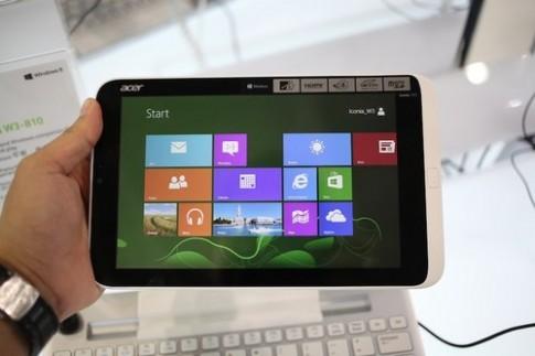 Ảnh thực tế tablet Acer Iconia W3 chạy Windows 8