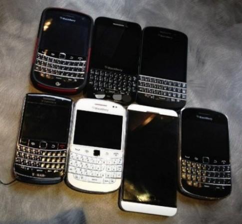 Ảnh thực tế về BlackBerry R10