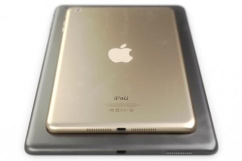 Ảnh tưởng tượng về iPad Mini 2 màu vàng