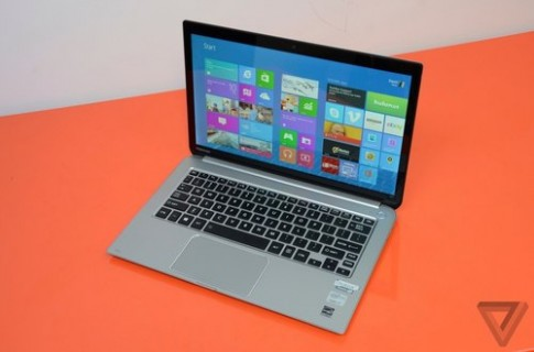 Ảnh ultrabook Windows 8 đầu bảng Toshiba Kirabook