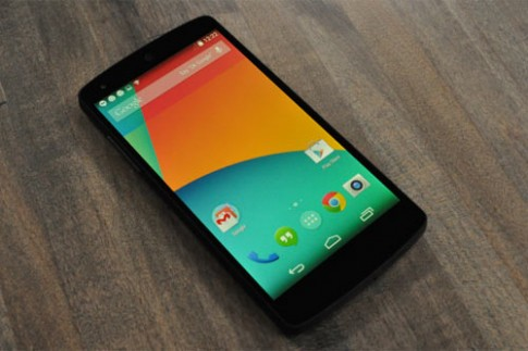 Ảnh và video thực tế Google Nexus 5