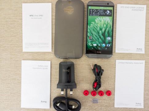 Ảnh và video thực tế HTC One thế hệ 2014