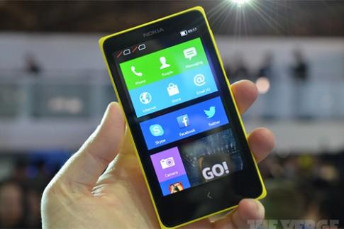 Ảnh và video thực tế Nokia X chạy Android