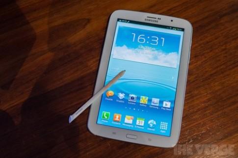 Ảnh và video thực tế Samsung Galaxy Note 8.0