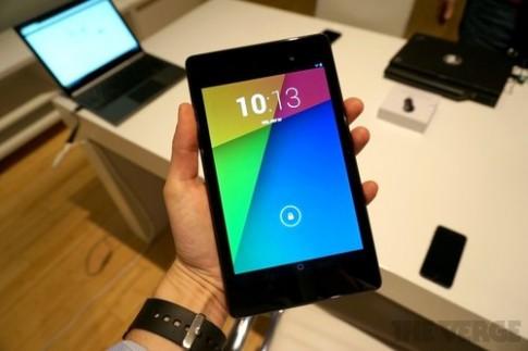 Ảnh, video thực tế tablet Nexus 7 thế hệ hai