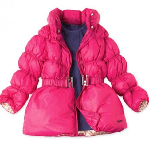 Áo phao ấm cho bé xua tan đông lạnh giá