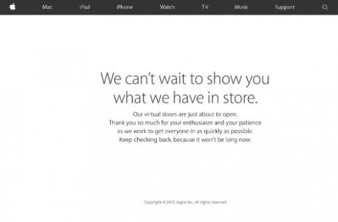 Apple cho đặt hàng iPhone 6s, 6s Plus từ trưa nay