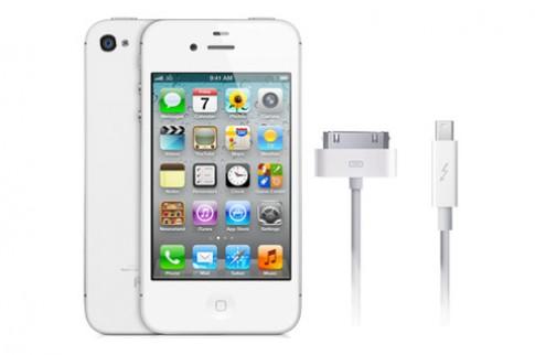 Apple có bằng sáng chế Thunderbolt trên thiết bị iOS