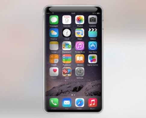 Apple có thể phát triển iPhone không phím Home