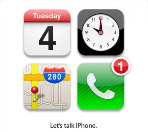 Apple gửi giấy mời tham gia sự kiện iPhone 5 ngày 4/10
