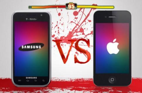 Apple lại đâm đơn kiện bản quyền với Samsung