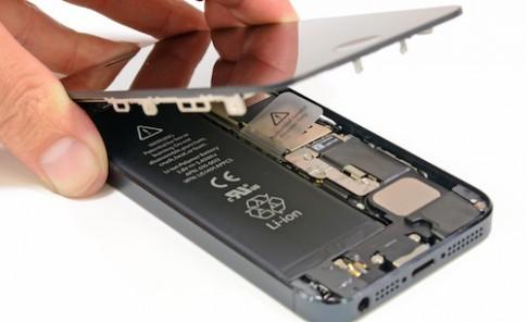 Apple lên chương trình thay thế pin cho iPhone 5 bị lỗi