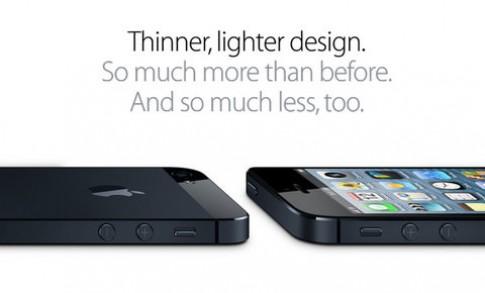 Apple nói hớ: 'iPhone 5 là smartphone mỏng nhất thế giới'