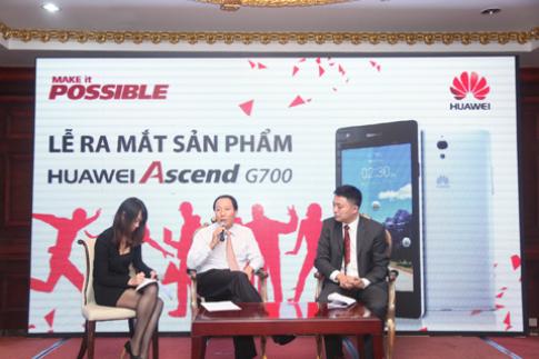Ascend G700 bắt đầu được đặt mua tại VN từ 21/11