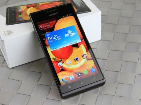 Ascend P1 XL - smartphone thời trang từ Huawei