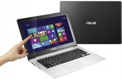 Asus âm thầm ra laptop Vivobook cảm ứng 13 inch