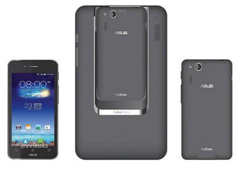 Asus giới thiệu điện thoại lai máy tính bảng cỡ nhỏ