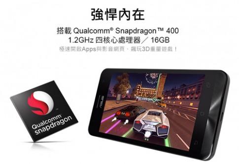 Asus giới thiệu ZenFone 5 dùng chip Snapdragon