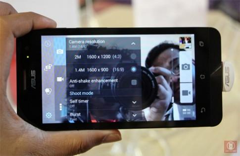 Asus hé lộ ZenFone mới với máy ảnh kép