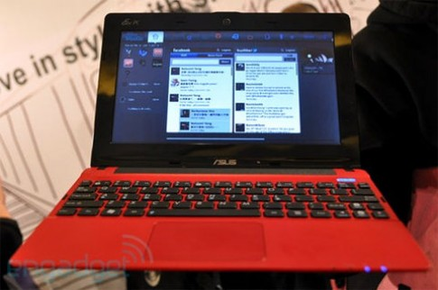 Asus ra netbook dùng hệ điều hành MeeGo