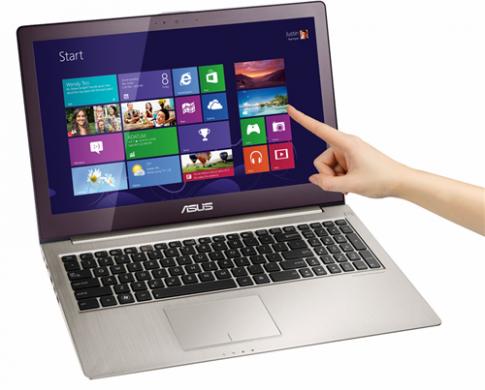 Asus ra ultrabook cảm ứng 15 inch chạy Windows 8