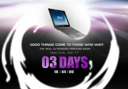 Asus ra ultrabook 'thực thụ' ngày 11/10