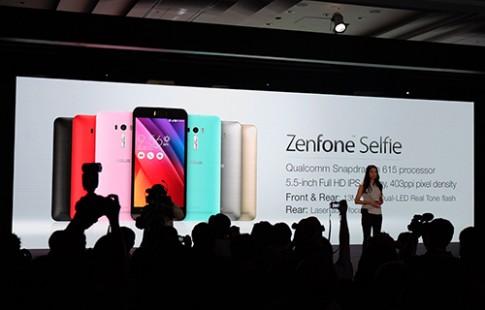 Asus trình làng Zenfone Selfie camera trước 13 megapixel