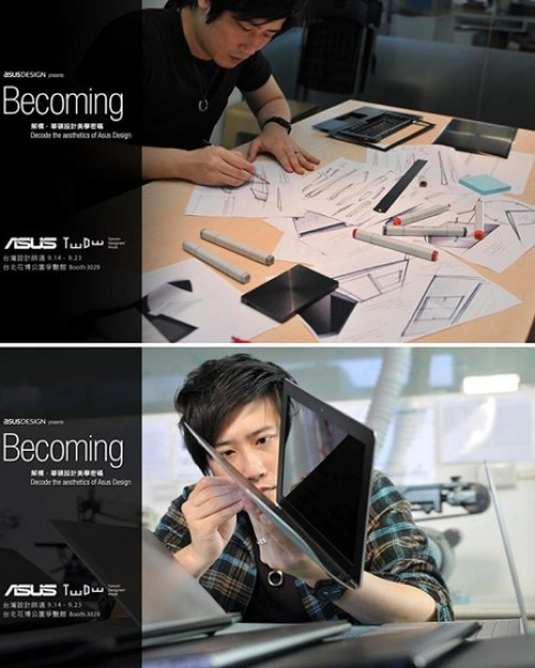 Asus Zenbook UX301 mang cảm hứng thiết kế từ đồng hồ đeo tay cao cấp