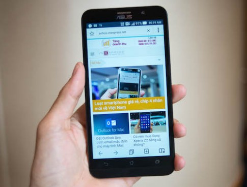 Asus Zenfone 2 xuất hiện tại Việt Nam