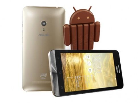 Asus ZenFone bắt đầu được nâng cấp Android 4.4 KitKat