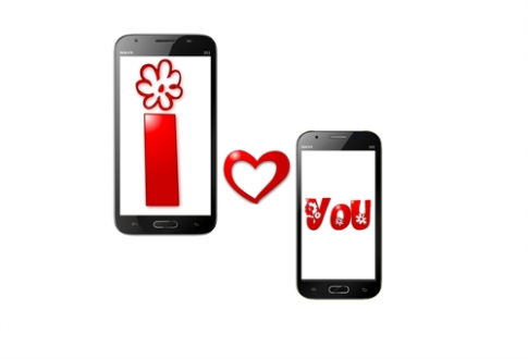 Avio VinaPhone ra mắt cặp đôi smartphone nhân lễ Tình yêu