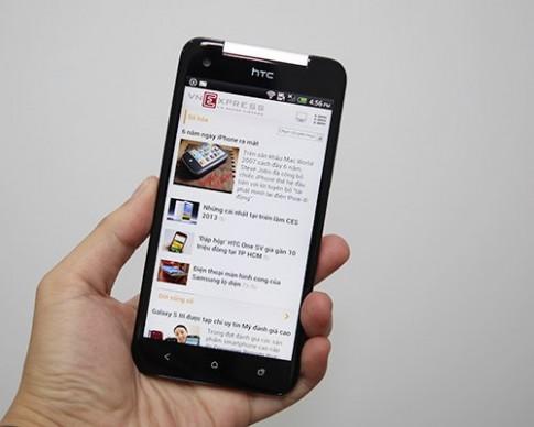 Bản nâng cấp HTC Butterfly ra mắt tháng 6 với camera 4 'chấm'