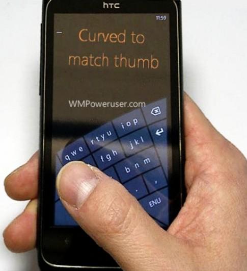 Bàn phím xoay độc đáo ở Windows Phone 8