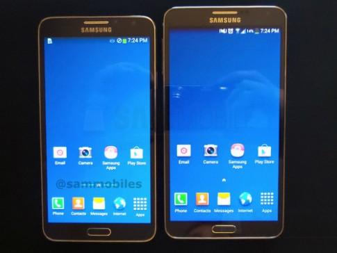 Bản rút gọn của Samsung Galaxy Note 3 lộ ảnh thực tế