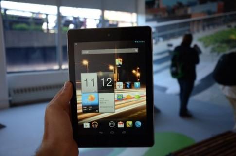 Bản sao iPad Mini của Acer giá 169 USD
