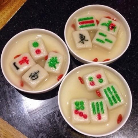 Bánh trôi mạt chược - món tráng miệng hấp dẫn Thành Đô