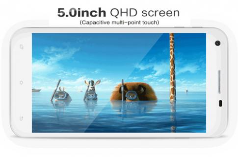Bavapen B502 dùng màn hình QHD 5 inch