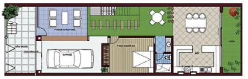 Biệt thự phố 160 m2