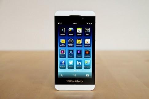 BlackBerry 10 có bản cập nhật đầu tiên
