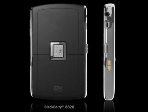 Blackberry 8820 Wi-Fi, GPS giá 1.850.000 đồng