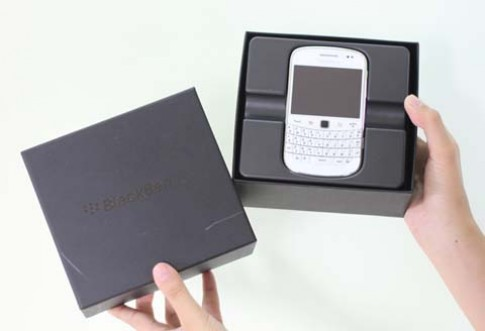 BlackBerry cao cấp nhất bản màu trắng tại Việt Nam