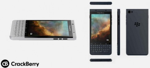 BlackBerry chạy Android thứ hai lộ diện